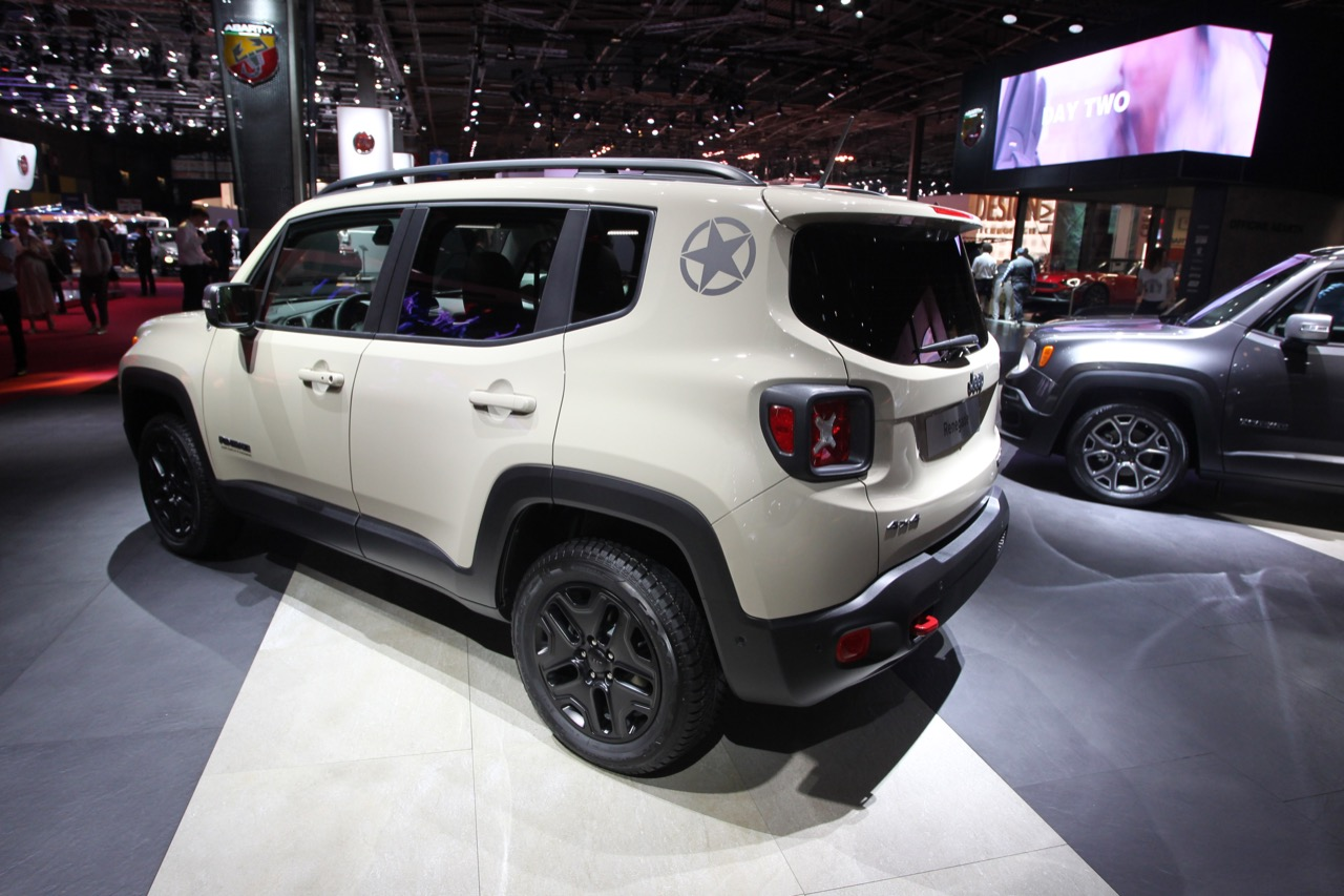 Jeep Renegade Desert Hawk >> Jeep Renegade Desert Hawk Salone Di Parigi 2016 5 10