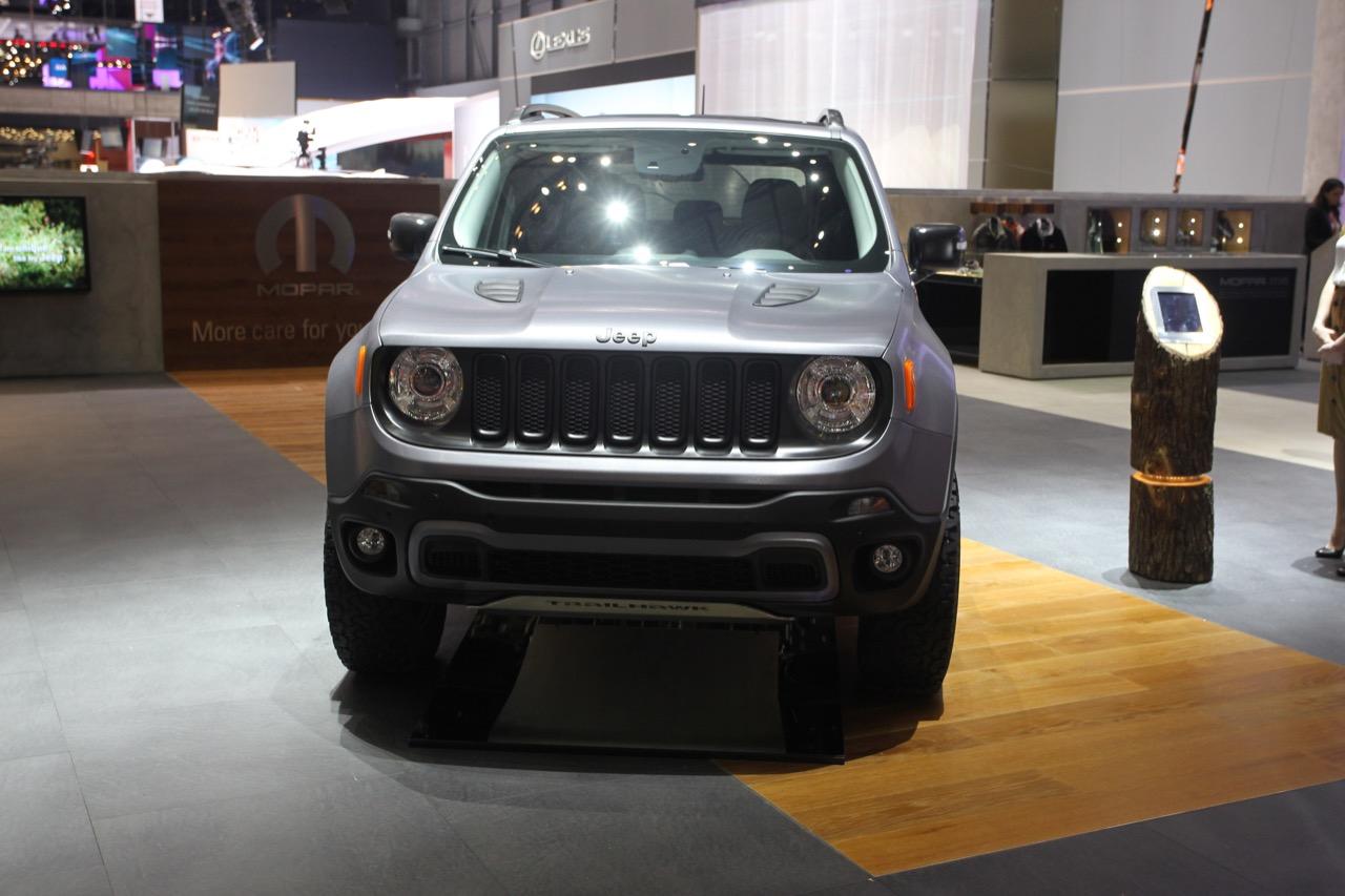 Jeep Renegade Hard Steel concept - Salone di Ginevra 2015