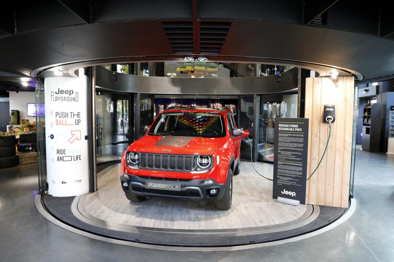 Jeep Renegade Hybrid Plug-in - MotorVillage Champs-Elysees 2019