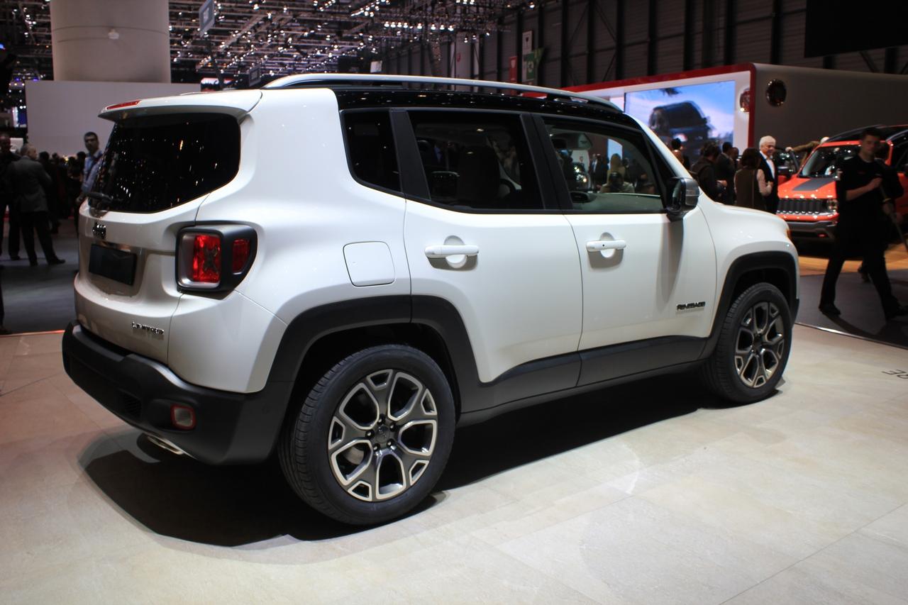 jeep renegade salone di ginevra 2014 foto 20 di 21 car. Black Bedroom Furniture Sets. Home Design Ideas
