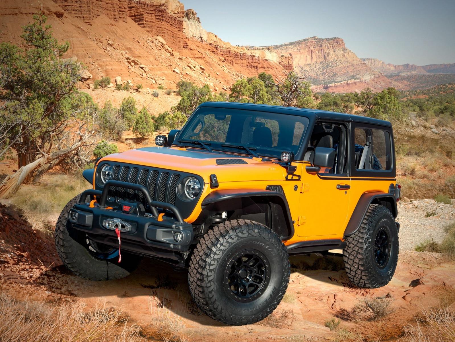 Jeep Wrangler Concept - Easter Jeep Safari 2021