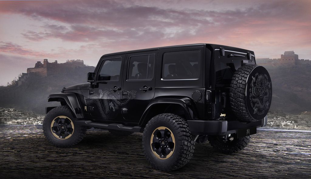 Jeep Wrangler Dragon Design Concept - Salone di Pechino 2012