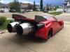 Jet car ispirata alla Ferrari Enzo