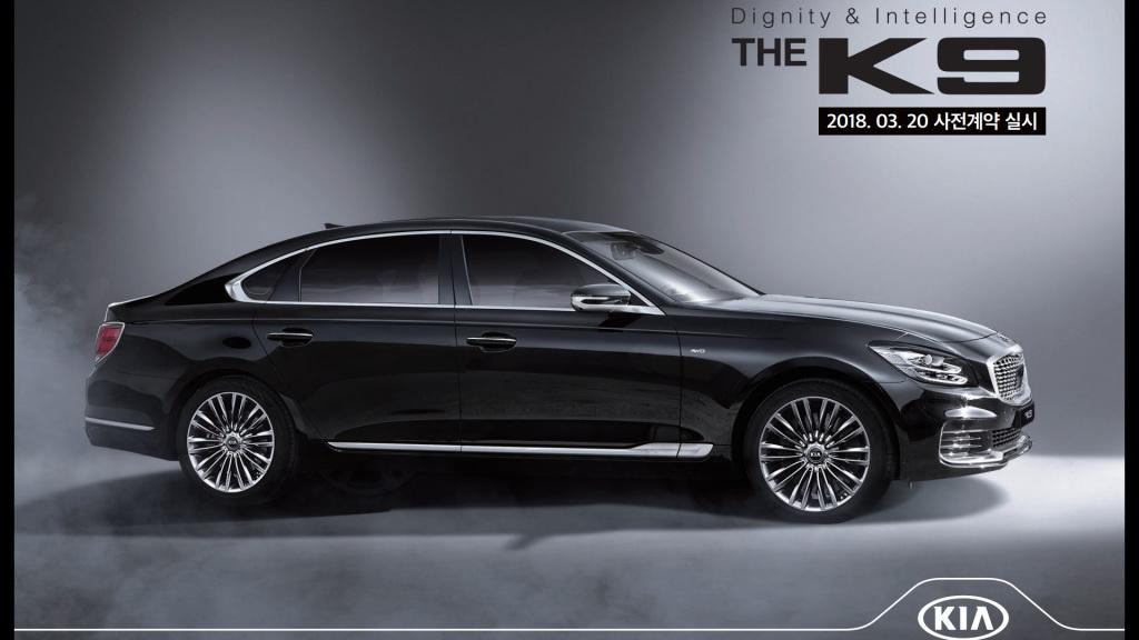 Kia K900 MY 2019 - Foto leaked