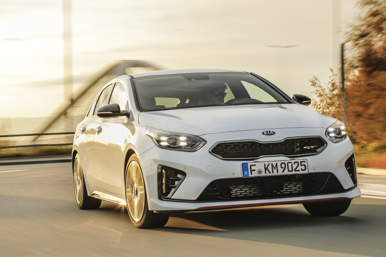 Kia Proceed GT 2019 - Test drive in Anteprima