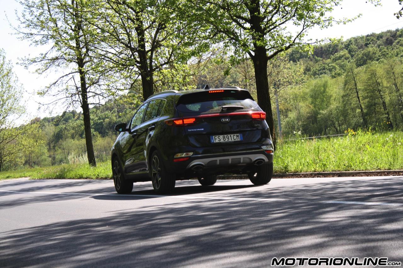 Kia Sportage 1.6 T-GDI GT Line - Prova su Strada