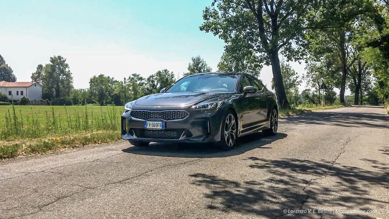 Kia Stinger GT - Prova su Strada 2019