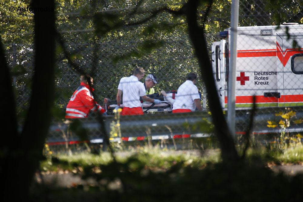 Koenigsegg Agera R incidente al Nurburgring