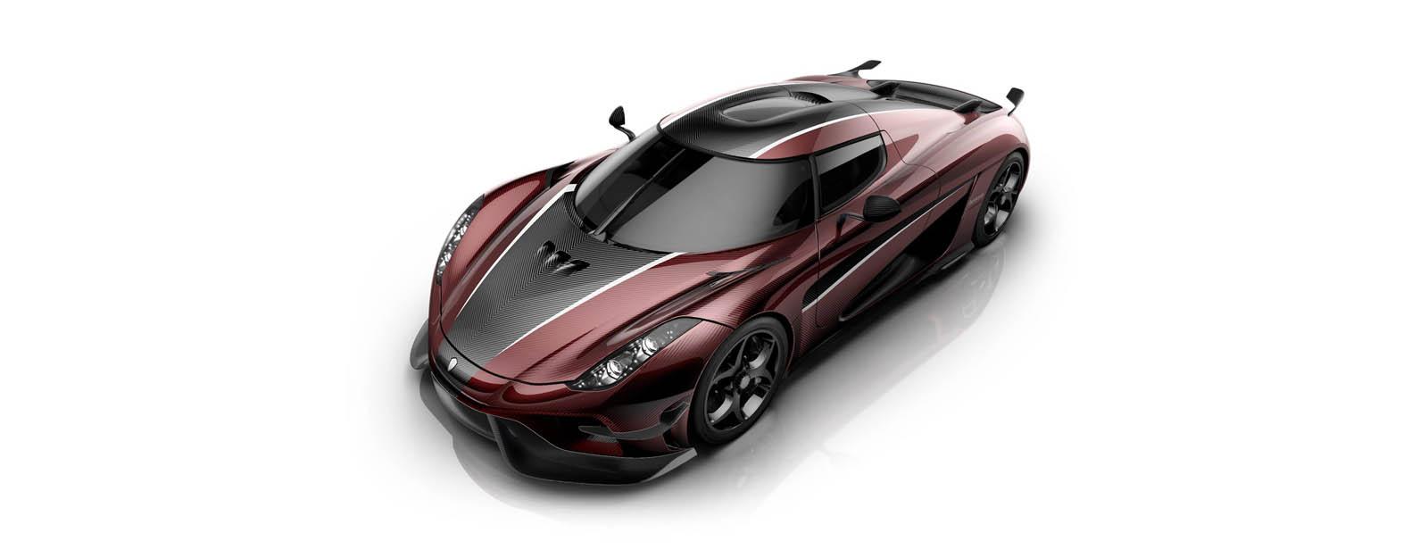 Koenigsegg Regera Red Carbon