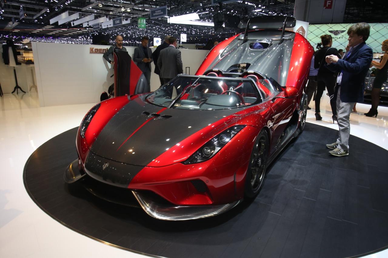 Koenigsegg Regera - Salone di Ginevra 2017