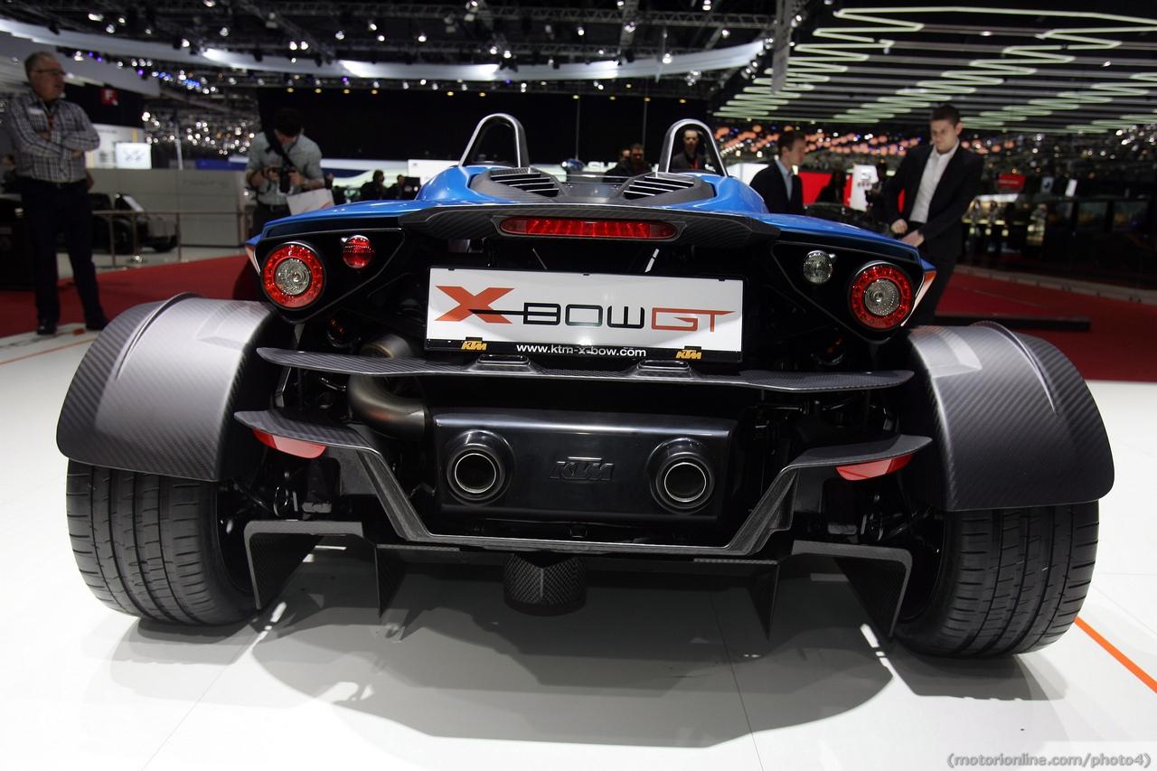 KTM X-BOW GT - Salone di Ginevra 2013