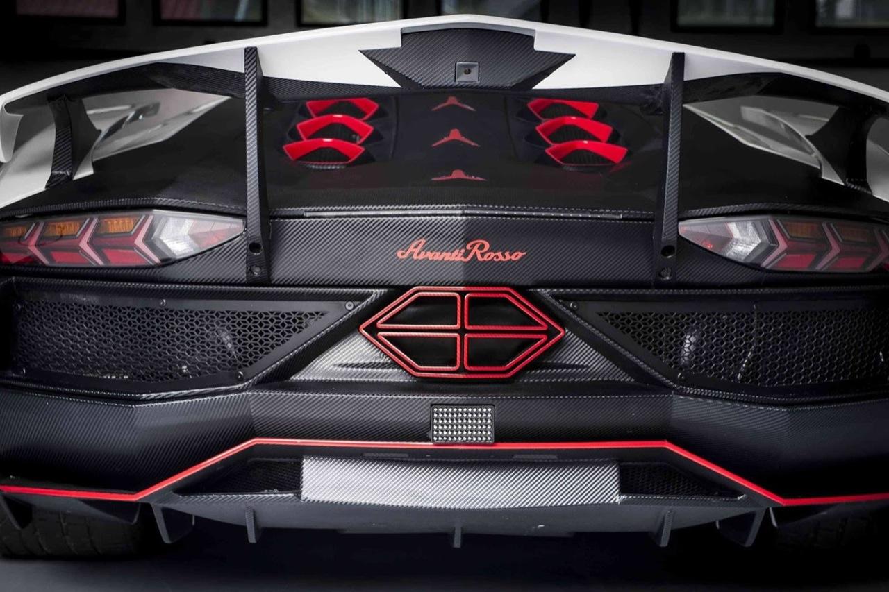Lamborghini Aventador Avanti Rosso Foto 2 Di 4