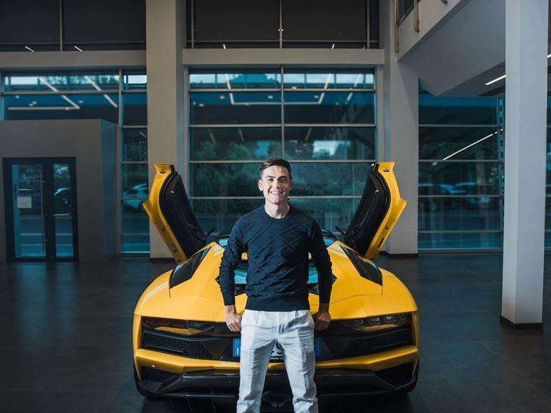 Lamborghini Aventador S Roadster - Paulo Dybala