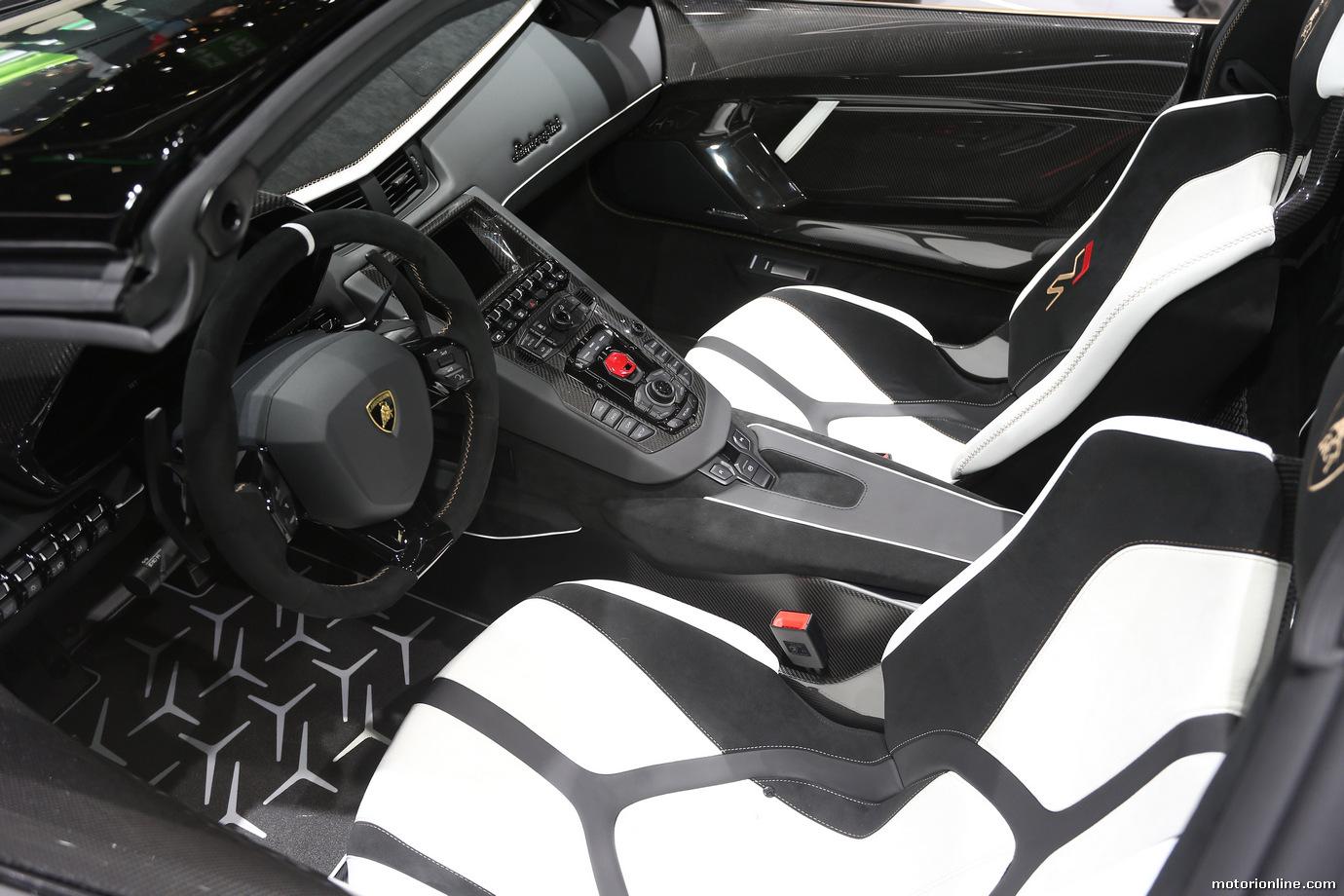 Lamborghini Aventador SVJ Roadster Foto Live - Salone di Ginevra 2019