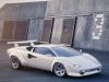 Lamborghini Countach moderna - Rendering