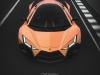 Lamborghini Forsennato - Rendering by Dmitry Lazarev