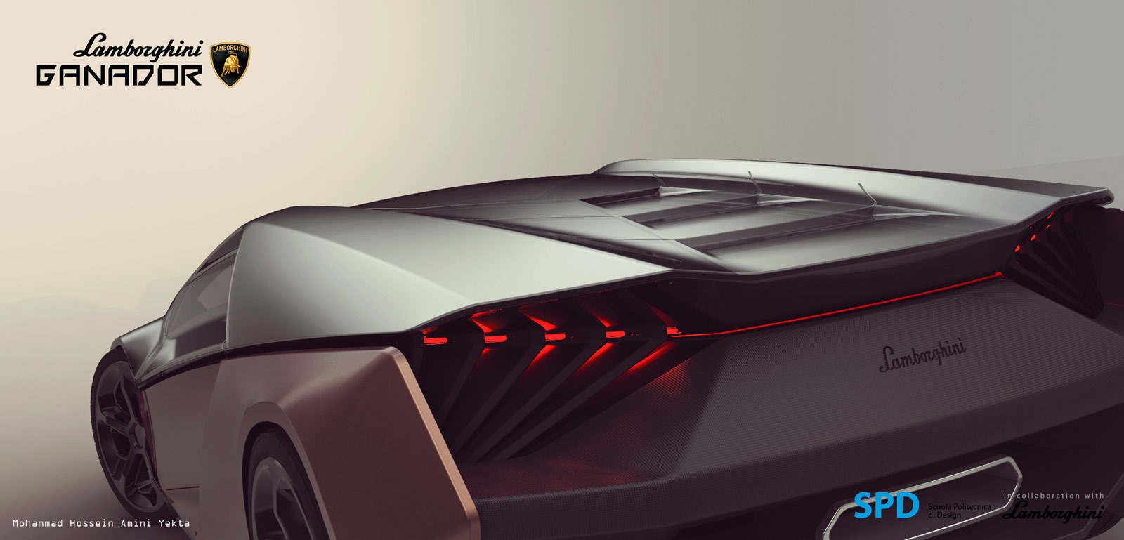 Lamborghini Ganador Concept Foto 9 Di 20