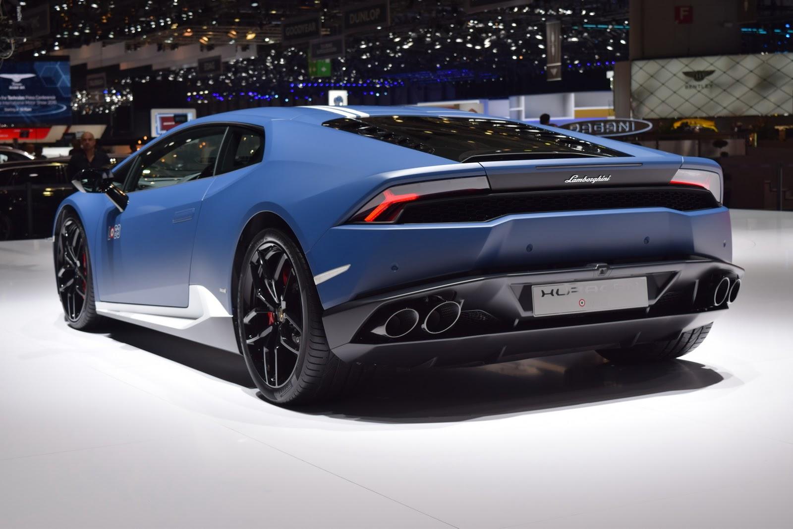 Lamborghini Huracan Avio Salone Di Ginevra 2016 4 6