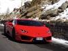 Lamborghini Huracan LP580-2 prova su strada 2017