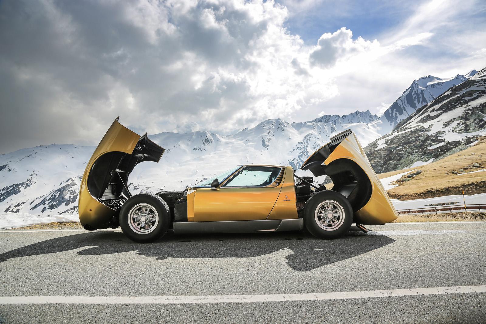 Lamborghini Miura The Italian Job 7 28