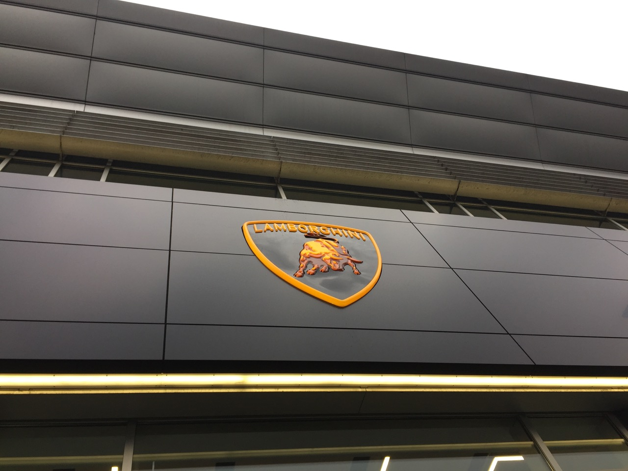 Lamborghini - nuova concessionaria a Milano