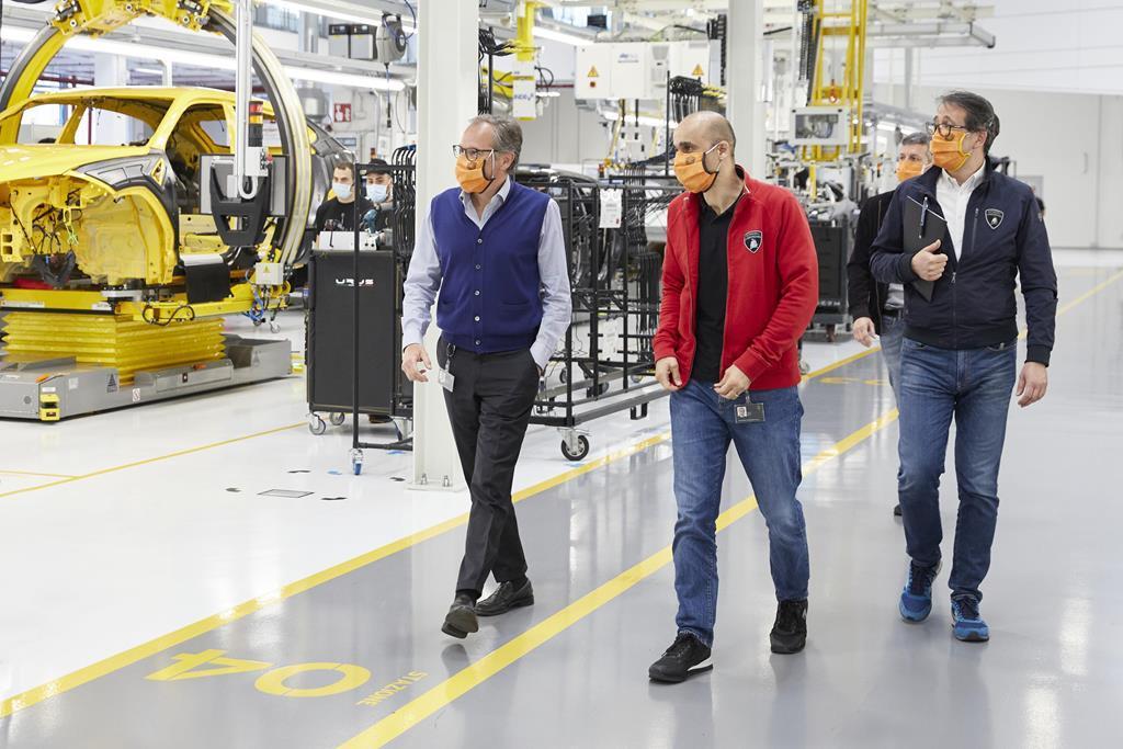 Lamborghini - Riapertura 4 maggio 2020