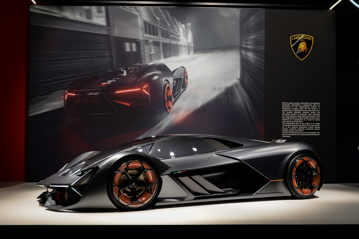 Lamborghini Terzo Millennio - Salone di Ginevra 2018