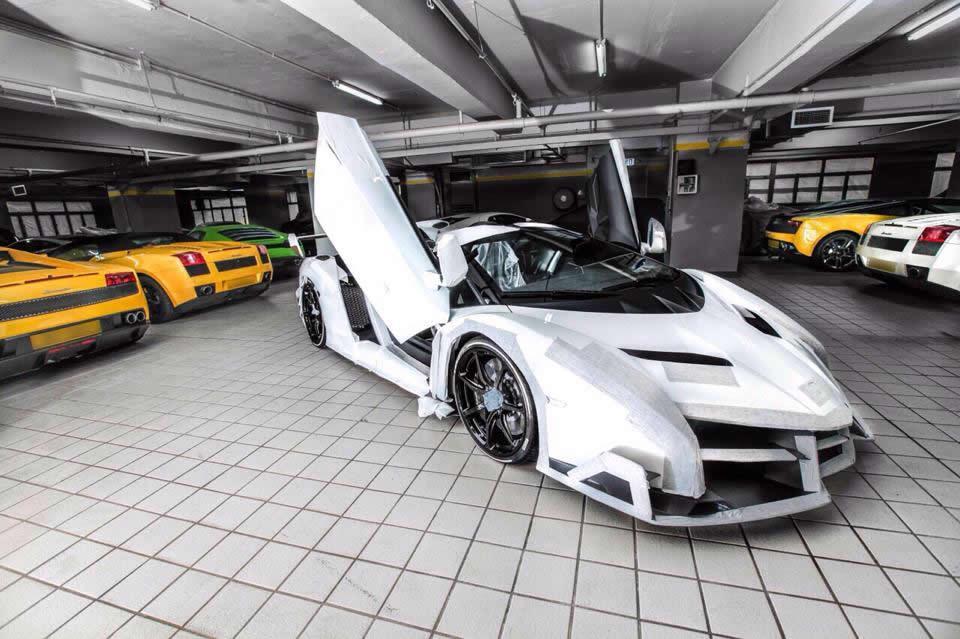 white lamborghini veneno wallpaper - White Lamborghini Veneno Wallpaper