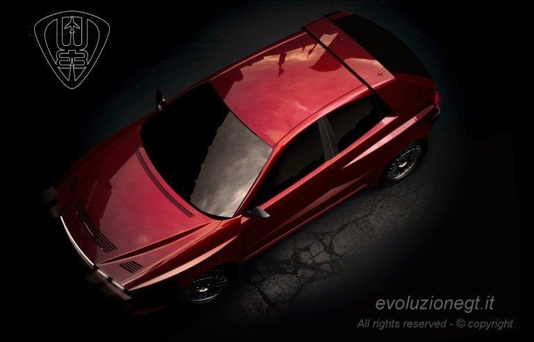 Lancia Delta Evoluzione GT