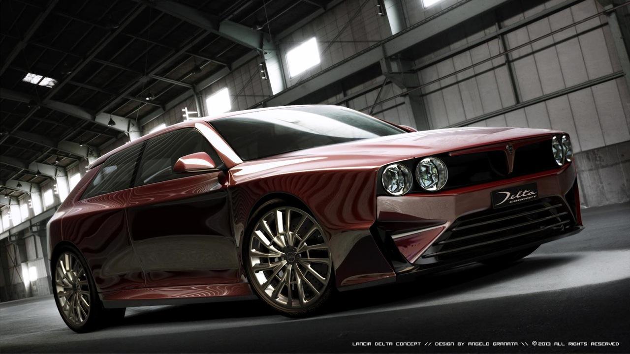 Lancia Delta HF Integrale Concept by Angelo Granata
