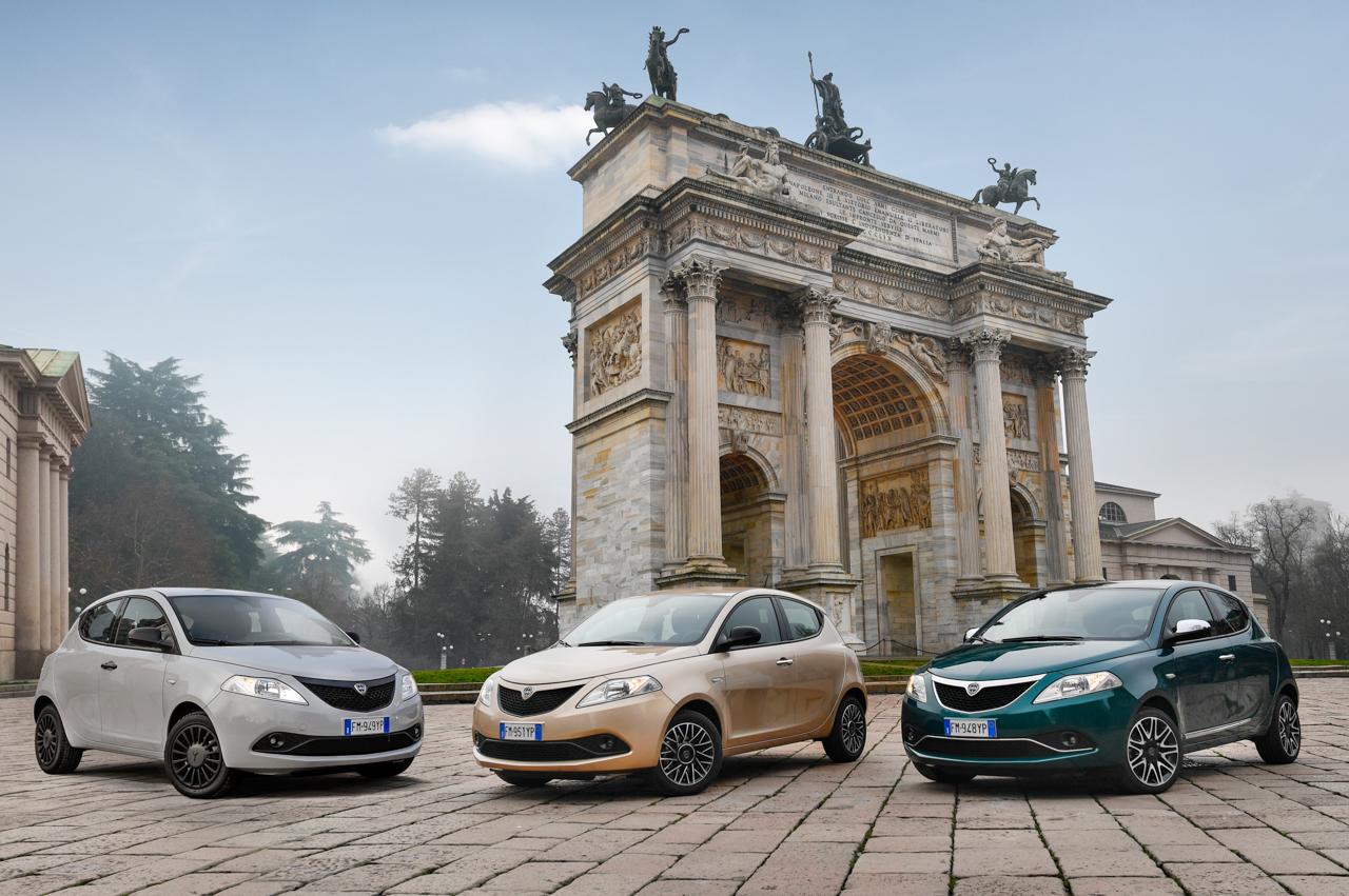 Lancia Y Elefantino Blu, Gold e Platinum