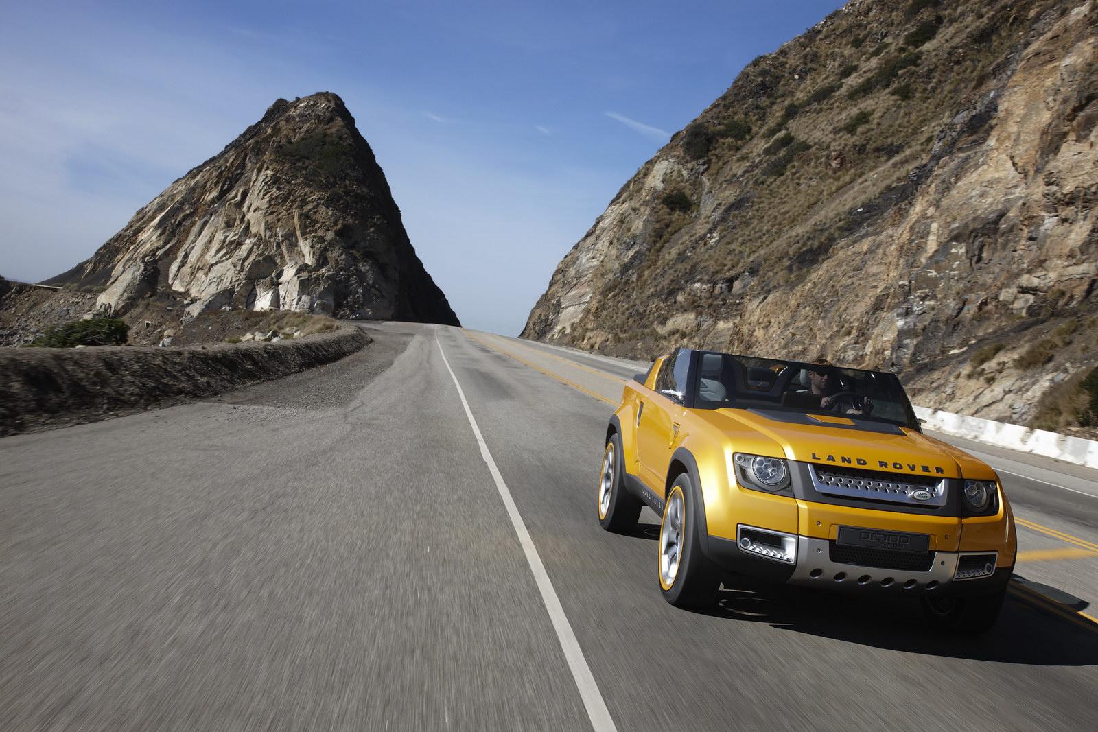 Land Rover DC100&DC100 Sport Los Angeles