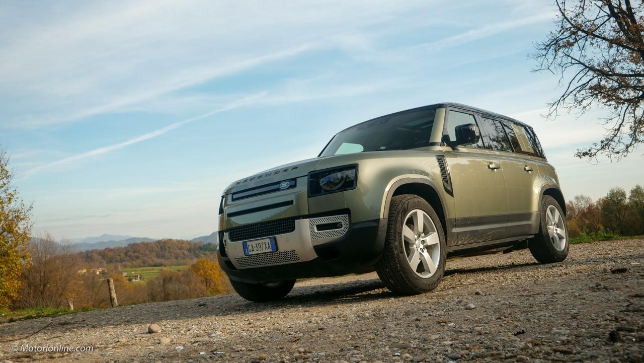 Land Rover Defender 2021 - Prova su strada