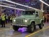 Land Rover Defender - ultimo modello realizzato all'impianto di Solihull