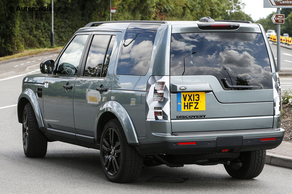Land Rover Discovery 2014 - Foto spia 09-08-2013
