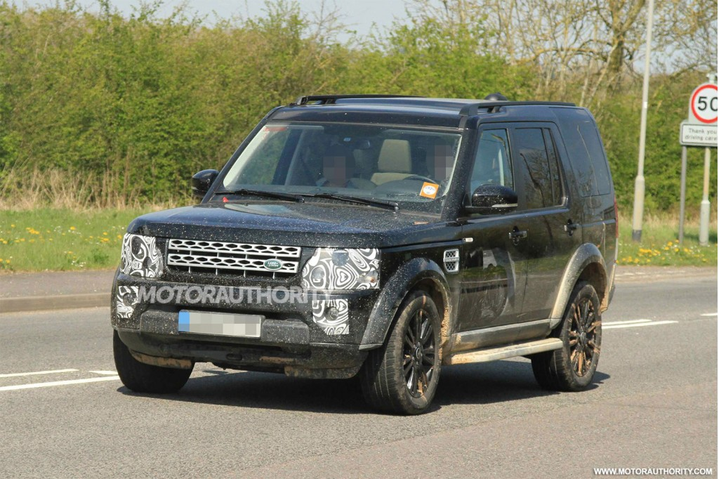 Land Rover Discovery 2015 - Foto Spia