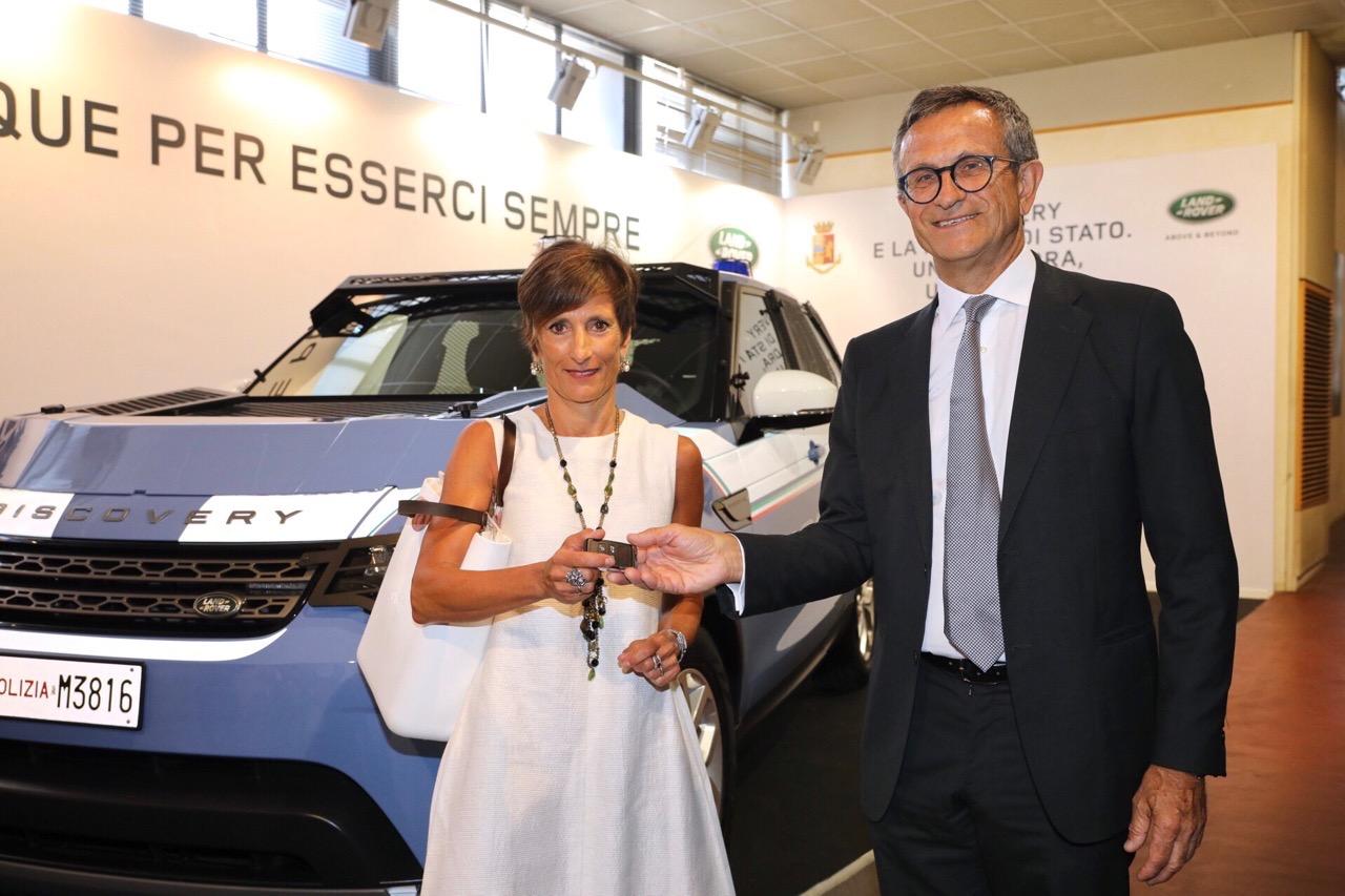 Land Rover Discovery - Polizia