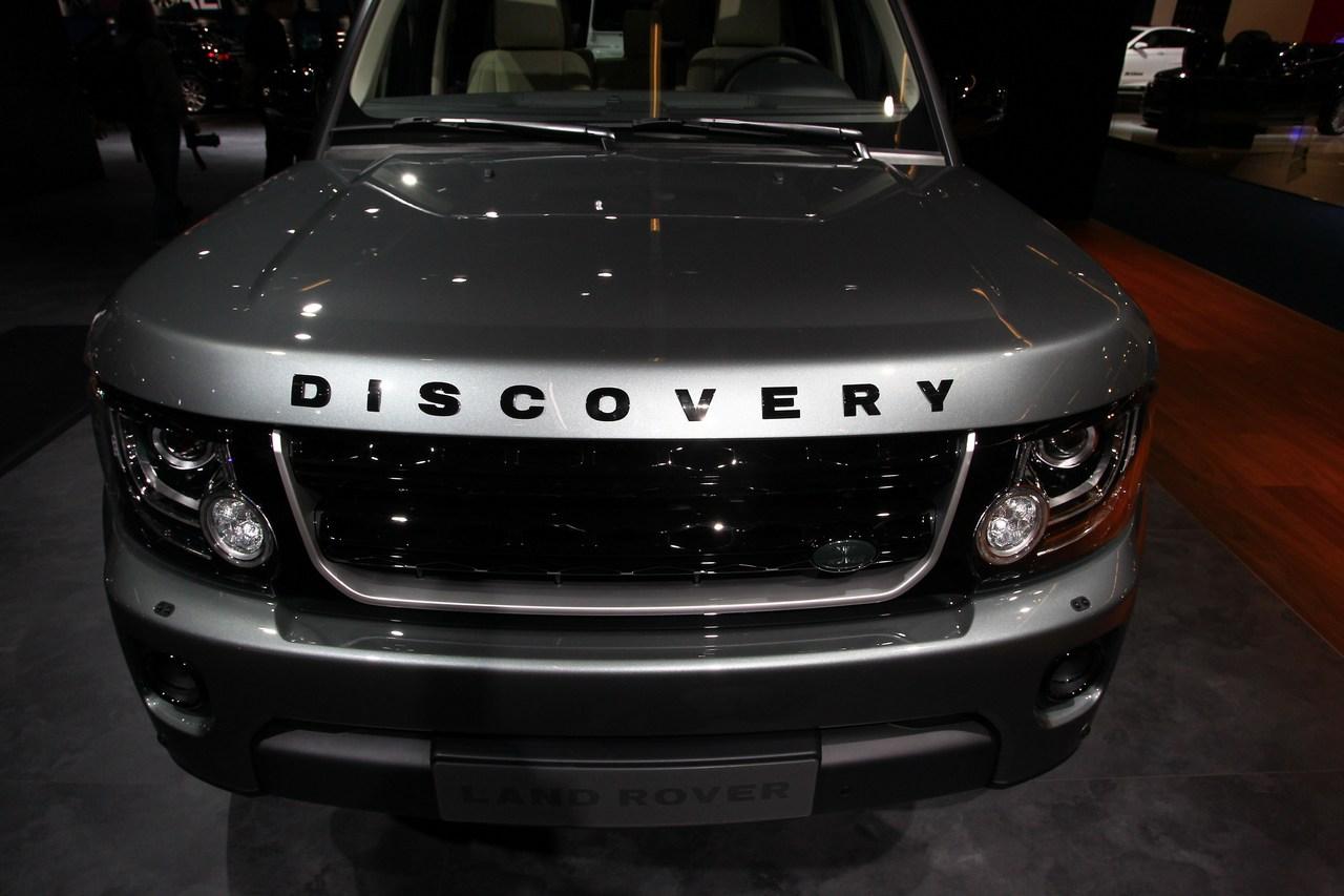 Land Rover Discovery - Salone di Francoforte 2013