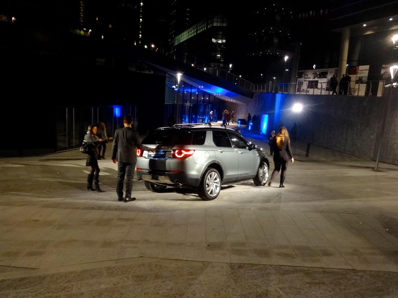 Land Rover Discovery Sport - Presentazione a Milano