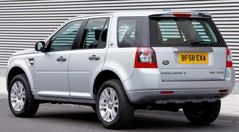 Land Rover Freelander 2011 - Foto brochure