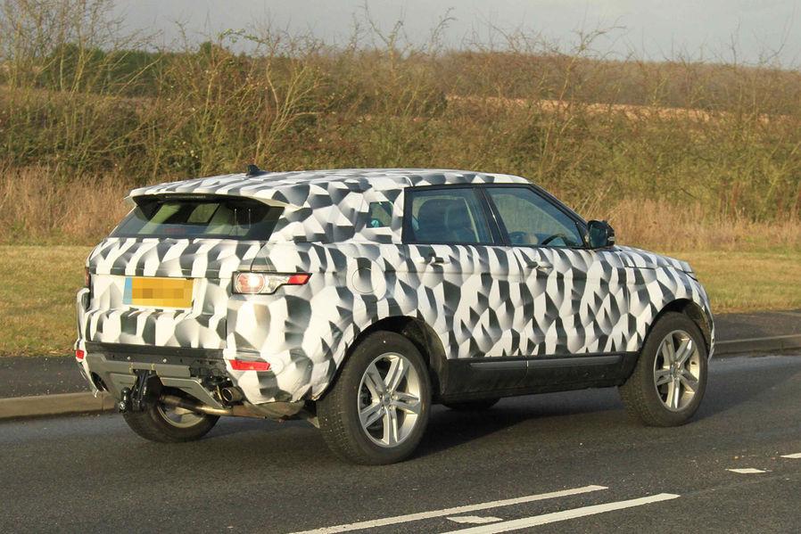 Land Rover Freelander foto spia