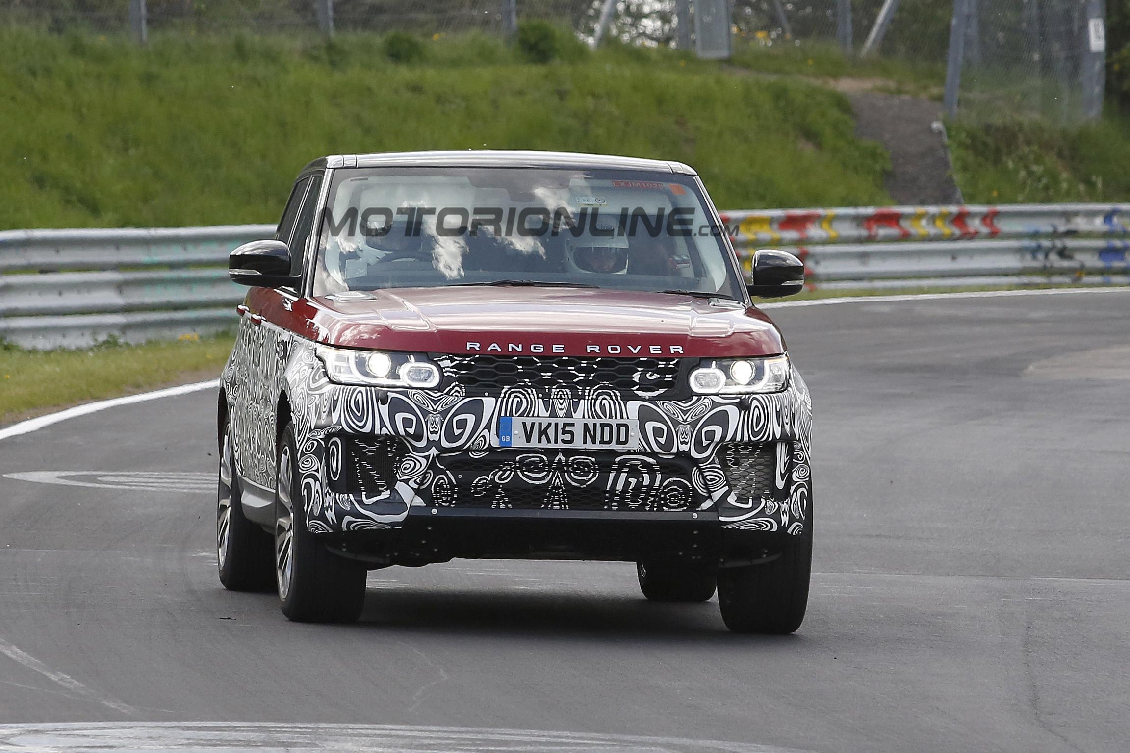 Land Rover Range Rover Sport 2016 - Foto spia 24-05-2016