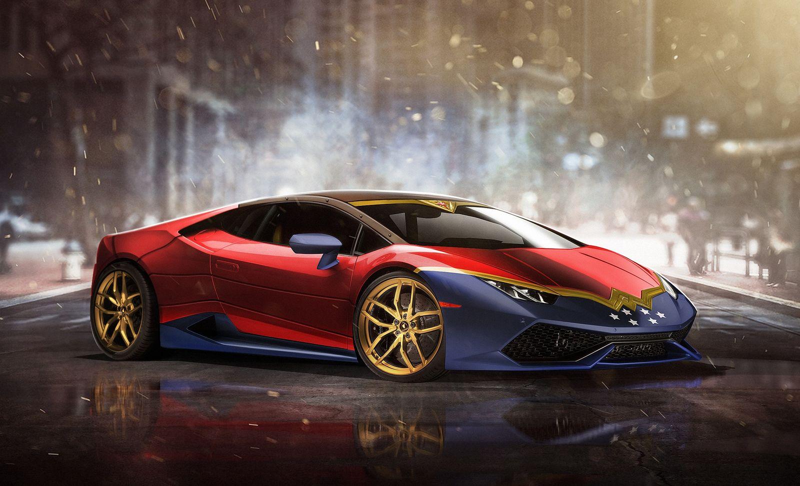 Le auto reali dei supereroi