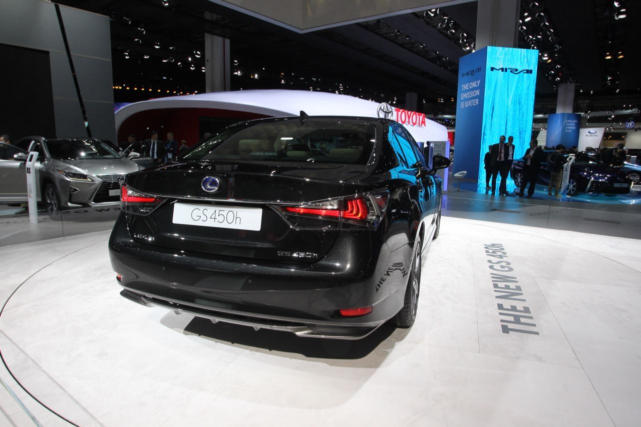 Lexus GS - Salone di Francoforte 2015