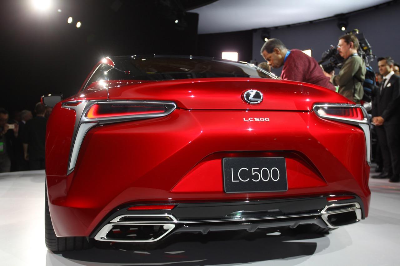 Lexus LC 500 - Salone di Detroit 2016