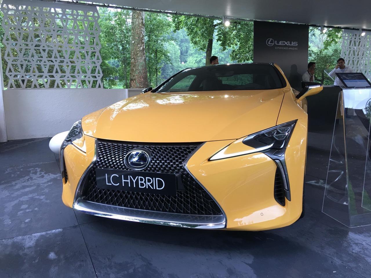 Lexus LC Hybrid - Parco Valentino 2018