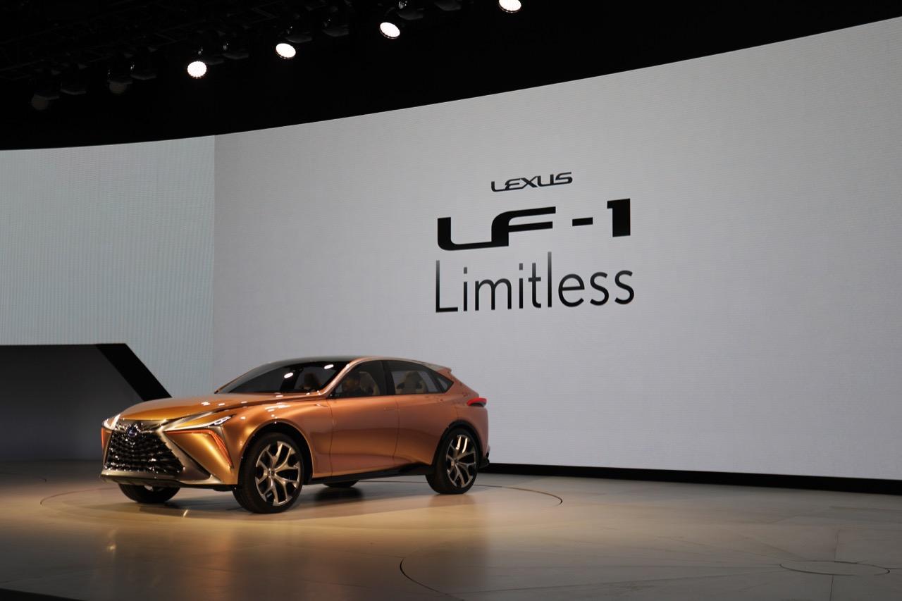 Lexus LF-1 Limitless Concept - Salone di Detroit 2018