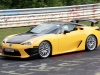 Lexus LF-A Nurburgring Edition incidente