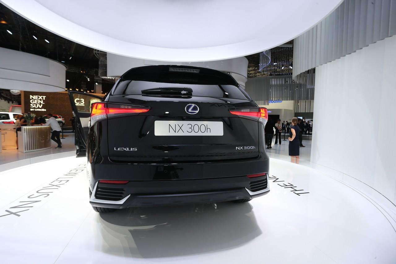 Lexus NX - Salone di Francoforte 2017