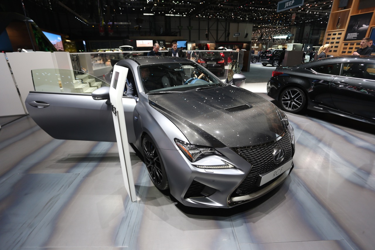 Lexus RC F 10th year Carbon Grade - Salone di Ginevra 2018
